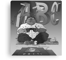 Graphic Novel Image - OBC T.V. Metal Print