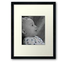Precious Profile Framed Print