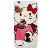 Goodbye Kitty iPhone Case/Skin