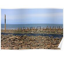 Lynmouth Beach VIII Poster