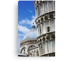 "Piazza dei Miracoli ""Square of Miracles"" Detail Canvas Print"