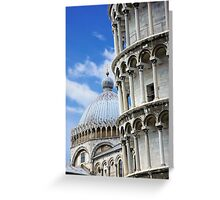 "Piazza dei Miracoli ""Square of Miracles"" Detail Greeting Card"
