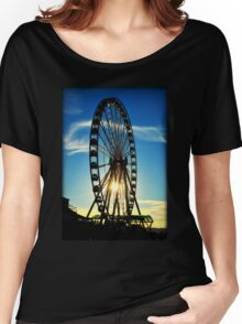 Seattle Great Wheel Women's Relaxed Fit T-Shirt