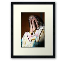 [ mary ] Framed Print