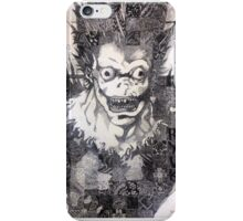 Ryuk - pen and ink iPhone Case/Skin
