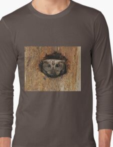 Hoot in a hole Long Sleeve T-Shirt