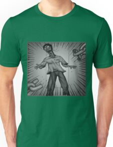 Graphic Novel Image - Consumer breaks the chains of... Unisex T-Shirt