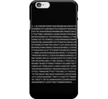 PI White iPhone Case/Skin