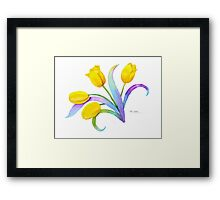 Tulip Fantasy, Just for Fun Framed Print