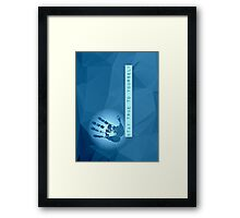 Stay True To Yourself (blue) Framed Print
