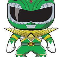 MMPR Green Ranger Funko Pop by averagejoeart
