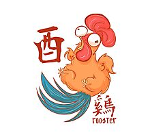 The Year of the Rooster Photographic Print