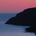 Sunrise Silhouette in Outer Cove by OldBirch