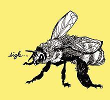 the plight of the honeybees by HiddenStash