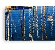 Marina Abstract Canvas Print