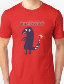 Shartmander - Believe in Yourself (Reddit Tattoo Charmander) T-Shirt