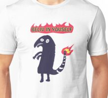 Shartmander - Believe in Yourself (Reddit Tattoo Charmander) Unisex T-Shirt