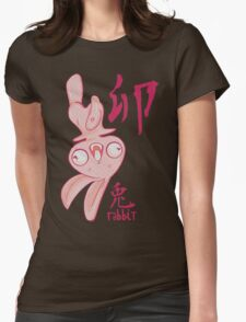 The Year of the Rabbit Womens Fitted T-Shirt