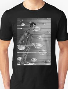 Graphic Novel Image - Robbie Digital enters the information super highway Unisex T-Shirt