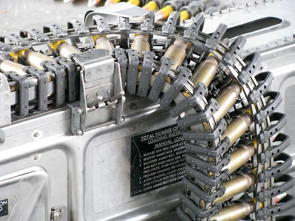 Plane Mounted Machine Gun Detail 2 by LNara