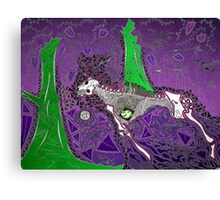 The Purple Hunt Canvas Print