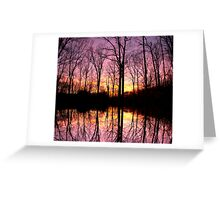 Reflections Of Where I Begin Greeting Card