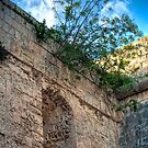 Window in a Bastion HDR by Jakov Cordina