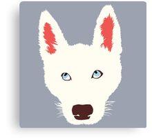 Olaf the Dog  Canvas Print