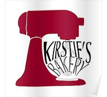 Kirsties Bakery Poster
