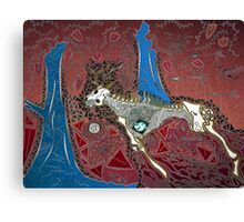 The Red Hunt Canvas Print