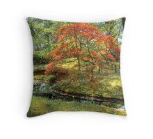 Spring - Japanese Maple Throw Pillow