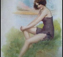 Lovely Lady Image From 1902 by Sherri Nicholas by Sherri     Nicholas