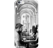 A Pensive Moment iPhone Case/Skin