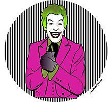 60s Joker Photographic Print