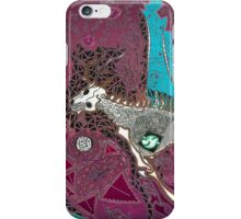 The Pink & Teal Hunt iPhone Case/Skin