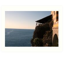 Ligurian Sea Art Print