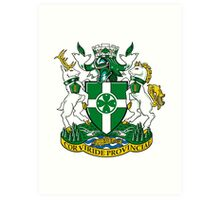 Chilliwack Coat of Arms Art Print