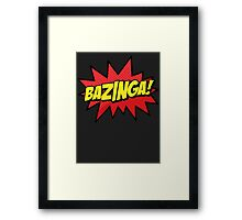 Bazinga I Gotcha new t-shirt Framed Print