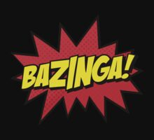 Bazinga I Gotcha new t-shirt by april nogami
