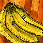 Bunch of Bananas by bernzweig