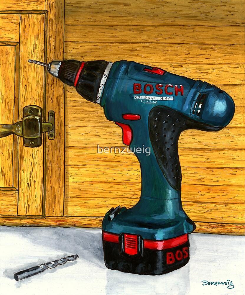 Bosch Drill by bernzweig
