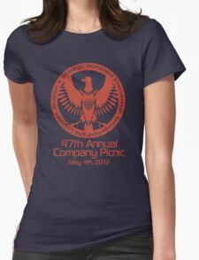 2012 Company Picnic Womens Fitted T-Shirt