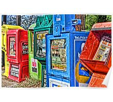 Newspaper Boxes Poster