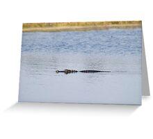 Gator Blues Greeting Card