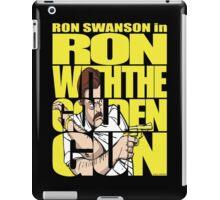 Ron With The Golden Gun iPad Case/Skin