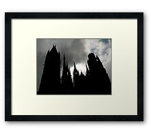Gothic indeed... Framed Print