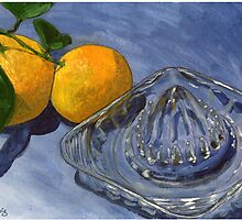 Oranges and Glass Juicer by bernzweig