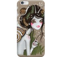 Snail Girl iPhone Case/Skin