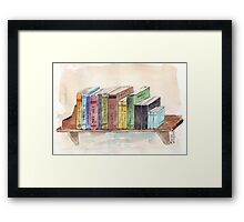 In the noisy confusion of life... Framed Print