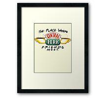 Central Perk Coffee Framed Print